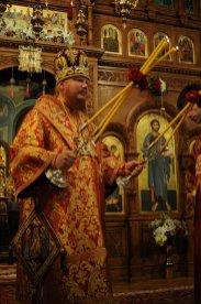 Фоторепортаж из Свято-Троицкого Ионинского монастыря о праздновании Светлого праздника Пасхи 302