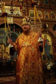 Фоторепортаж из Свято-Троицкого Ионинского монастыря о праздновании Светлого праздника Пасхи 307