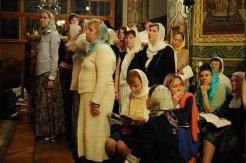 Фоторепортаж из Свято-Троицкого Ионинского монастыря о праздновании Светлого праздника Пасхи 322