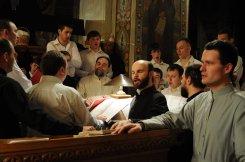 Фоторепортаж из Свято-Троицкого Ионинского монастыря о праздновании Светлого праздника Пасхи 328