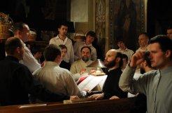 Фоторепортаж из Свято-Троицкого Ионинского монастыря о праздновании Светлого праздника Пасхи 332