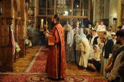 Фоторепортаж из Свято-Троицкого Ионинского монастыря о праздновании Светлого праздника Пасхи 352