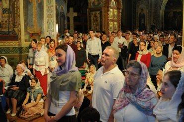 Фоторепортаж из Свято-Троицкого Ионинского монастыря о праздновании Светлого праздника Пасхи 365