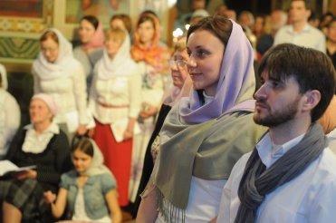 Фоторепортаж из Свято-Троицкого Ионинского монастыря о праздновании Светлого праздника Пасхи 366