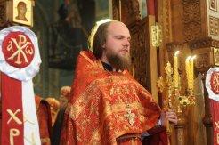Фоторепортаж из Свято-Троицкого Ионинского монастыря о праздновании Светлого праздника Пасхи 369