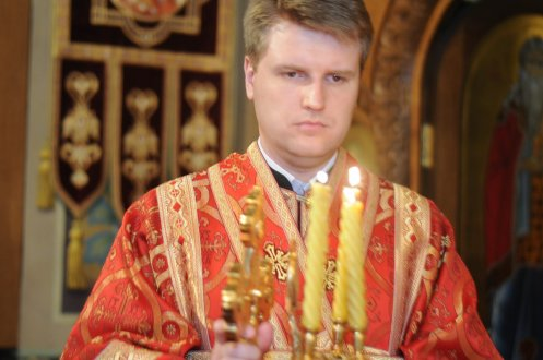 Фоторепортаж из Свято-Троицкого Ионинского монастыря о праздновании Светлого праздника Пасхи 375