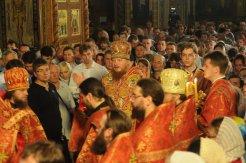 Фоторепортаж из Свято-Троицкого Ионинского монастыря о праздновании Светлого праздника Пасхи 378