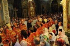 Фоторепортаж из Свято-Троицкого Ионинского монастыря о праздновании Светлого праздника Пасхи 383