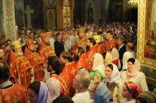Фоторепортаж из Свято-Троицкого Ионинского монастыря о праздновании Светлого праздника Пасхи 384