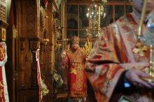 Фоторепортаж из Свято-Троицкого Ионинского монастыря о праздновании Светлого праздника Пасхи 389