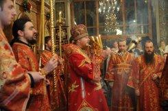 Фоторепортаж из Свято-Троицкого Ионинского монастыря о праздновании Светлого праздника Пасхи 398