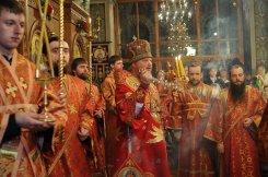 Фоторепортаж из Свято-Троицкого Ионинского монастыря о праздновании Светлого праздника Пасхи 402