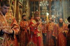 Фоторепортаж из Свято-Троицкого Ионинского монастыря о праздновании Светлого праздника Пасхи 403