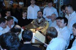 Фоторепортаж из Свято-Троицкого Ионинского монастыря о праздновании Светлого праздника Пасхи 407