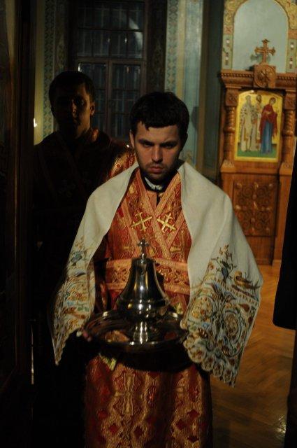 Фоторепортаж из Свято-Троицкого Ионинского монастыря о праздновании Светлого праздника Пасхи 414
