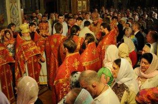 Фоторепортаж из Свято-Троицкого Ионинского монастыря о праздновании Светлого праздника Пасхи 415