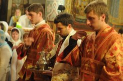 Фоторепортаж из Свято-Троицкого Ионинского монастыря о праздновании Светлого праздника Пасхи 420