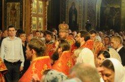 Фоторепортаж из Свято-Троицкого Ионинского монастыря о праздновании Светлого праздника Пасхи 421