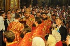 Фоторепортаж из Свято-Троицкого Ионинского монастыря о праздновании Светлого праздника Пасхи 424