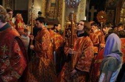 Фоторепортаж из Свято-Троицкого Ионинского монастыря о праздновании Светлого праздника Пасхи 463