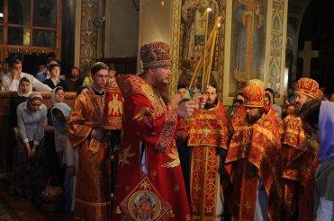 Фоторепортаж из Свято-Троицкого Ионинского монастыря о праздновании Светлого праздника Пасхи 467