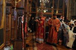 Фоторепортаж из Свято-Троицкого Ионинского монастыря о праздновании Светлого праздника Пасхи 481