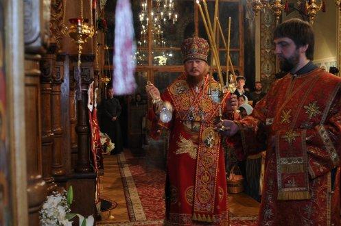 Фоторепортаж из Свято-Троицкого Ионинского монастыря о праздновании Светлого праздника Пасхи 487