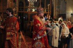 Фоторепортаж из Свято-Троицкого Ионинского монастыря о праздновании Светлого праздника Пасхи 492