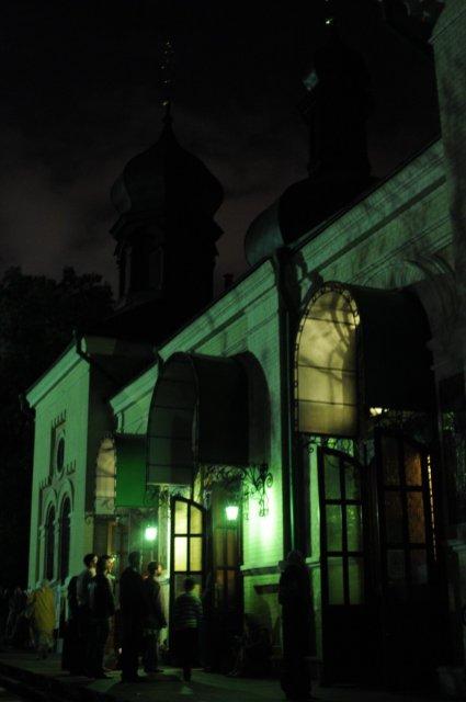 Фоторепортаж из Свято-Троицкого Ионинского монастыря о праздновании Светлого праздника Пасхи 499