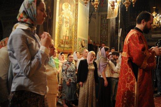 Фоторепортаж из Свято-Троицкого Ионинского монастыря о праздновании Светлого праздника Пасхи 512
