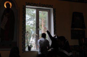 Фоторепортаж. Первое мая в сельском храме села Сукачи 14