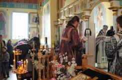 Фоторепортаж. Первое мая в сельском храме села Сукачи 76