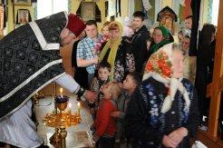 Фоторепортаж. Первое мая в сельском храме села Сукачи 122