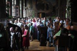 Святая Троица. Фотографии праздничного богослужения из Свято-Троицкого Ионинского монастыря.2013 год. 150