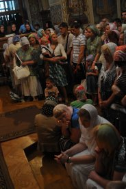Святая Троица. Фотографии праздничного богослужения из Свято-Троицкого Ионинского монастыря.2013 год. 167