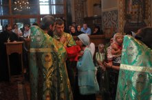 Святая Троица. Фотографии праздничного богослужения из Свято-Троицкого Ионинского монастыря.2013 год. 209