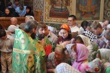 Святая Троица. Фотографии праздничного богослужения из Свято-Троицкого Ионинского монастыря.2013 год. 211