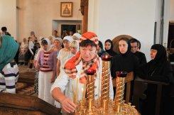 300 фото с храмового праздника Преображение Господне Спасо-Преображенского скита Ионинского монастыря 25