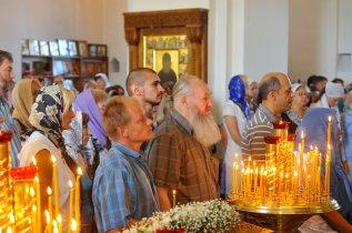 300 фото с храмового праздника Преображение Господне Спасо-Преображенского скита Ионинского монастыря 49