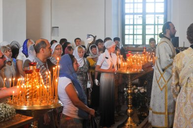 300 фото с храмового праздника Преображение Господне Спасо-Преображенского скита Ионинского монастыря 107