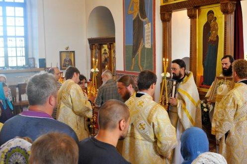 300 фото с храмового праздника Преображение Господне Спасо-Преображенского скита Ионинского монастыря 186