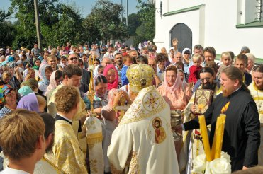 300 фото с храмового праздника Преображение Господне Спасо-Преображенского скита Ионинского монастыря 217