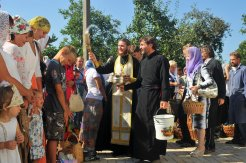 300 фото с храмового праздника Преображение Господне Спасо-Преображенского скита Ионинского монастыря 255
