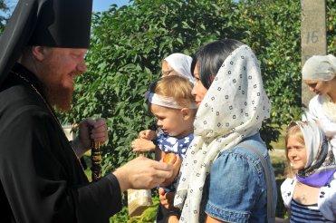 300 фото с храмового праздника Преображение Господне Спасо-Преображенского скита Ионинского монастыря 262