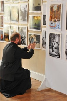 """Первая фотовыставка """"Украина православная"""" открыта в Шоколадном домике. 50"""
