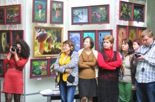 То, что радует глаз и где отдыхает душа. Выставка Вячеслава Мищенко в Национальной Парламентской библиотеке Украины. 9