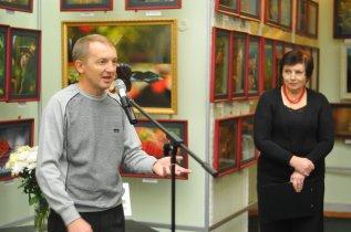 То, что радует глаз и где отдыхает душа. Выставка Вячеслава Мищенко в Национальной Парламентской библиотеке Украины. 16
