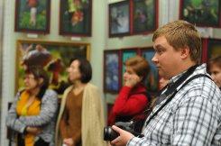 То, что радует глаз и где отдыхает душа. Выставка Вячеслава Мищенко в Национальной Парламентской библиотеке Украины. 32