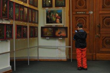 То, что радует глаз и где отдыхает душа. Выставка Вячеслава Мищенко в Национальной Парламентской библиотеке Украины. 35