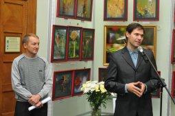 То, что радует глаз и где отдыхает душа. Выставка Вячеслава Мищенко в Национальной Парламентской библиотеке Украины. 39